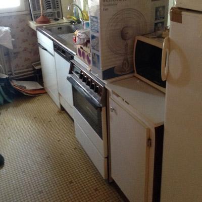 débarras d'électroménager dans un appartement au Plessis Robinson