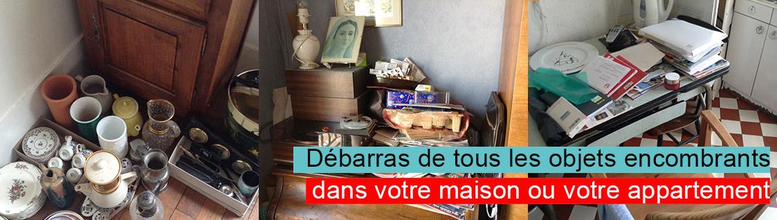 debarras objets encombrant dans votre cave ou votre appartement