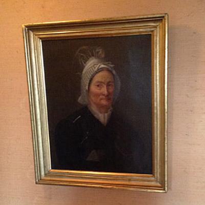 portrait XIXème dans un débarras à Meudon