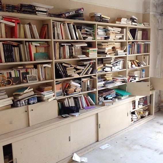 Debarras bibliotheque